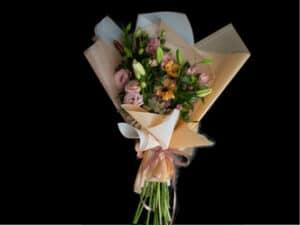Ramo-de-flores mix astromelia gerbera lilium y lisianthus