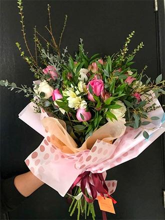 Ramos de flores Mix de Rosas y Astromelias