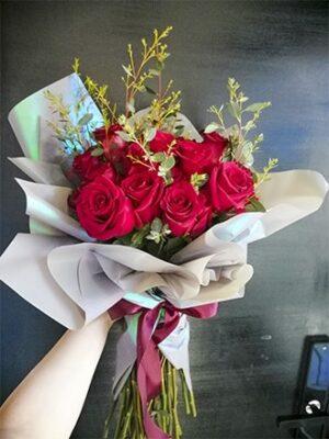 ramos de 24 rosas